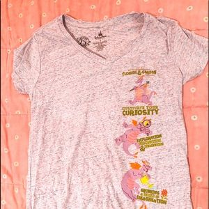 Epcot Figment Flower and Garden shirt